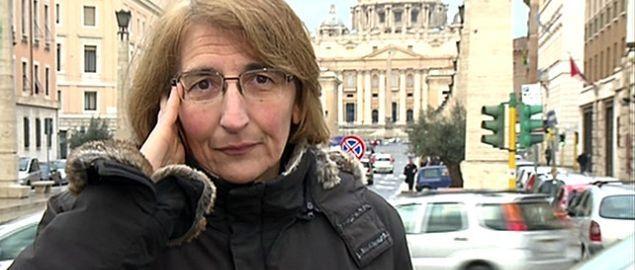 Ecco la Sig.ra Giovanna Chirri, madre della Rinuncia al Papato