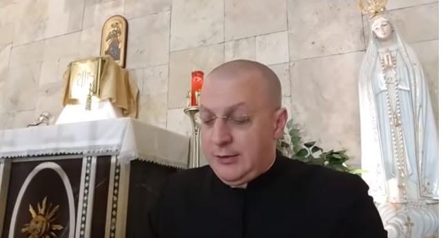 Don Minutella in viaggio al di pro di Papa Benedetto XVI