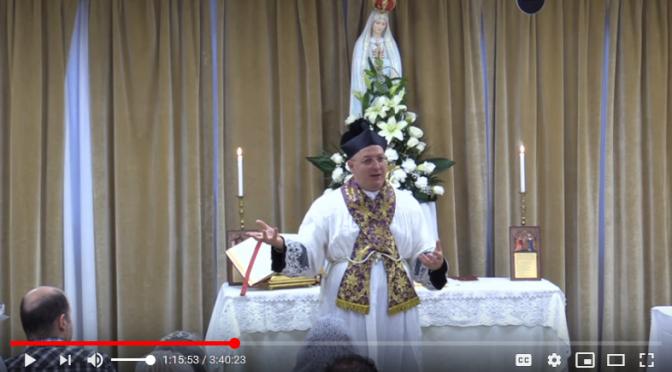 Don Minutella a Roma: 21 Febbraio 2020 — l'intero Video